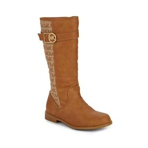 MICHAEL Michael Kors Girl's Adryana Moto Boots
